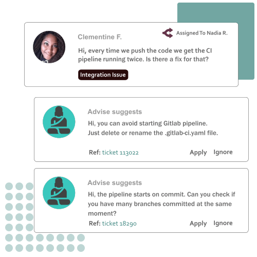 Customer Service Automation with AI : Reply Suggestions