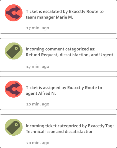 Customer Service Automation: Exacctly Ticket Tagging